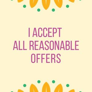 Other - Accepting Offers
